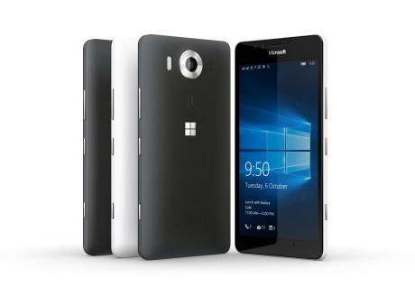 Lumia 650 er både lettere og slankere end forgængeren. Foto: Microsoft