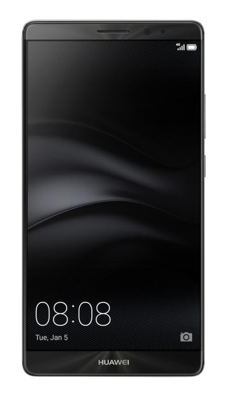 Mate 8 i mørk metal. Foto: Huawei