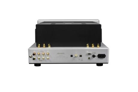 Med pladespillerindgang og indbygget DAC tackler forstærkeren alle lydformater. (Foto: Producent)