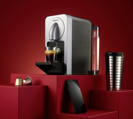 Skærmskud: Nespresso