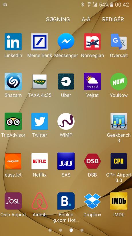 Er en app blevet gemt på et eksternt hukommelseskort, der efterfølgende fjernes fra mobilen, forsvinder app-ikonet simpelthen fra telefonen.