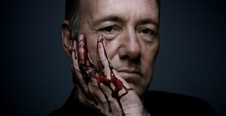 En amerikansk præsident med blod på hænderne. Foto: Netflix