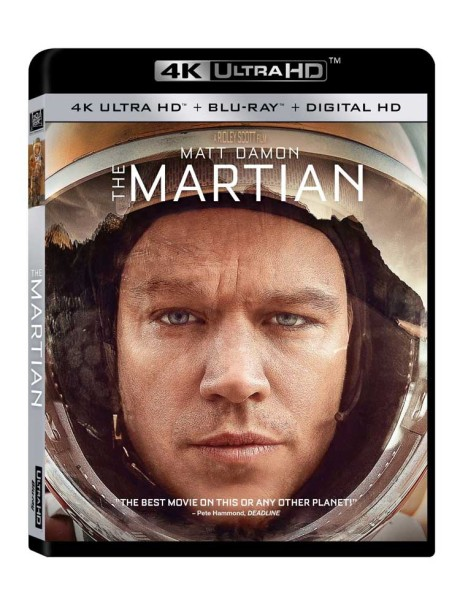 The Martian er en af de første Hollywood-film, der lanceres på 4K Ultra HD Blu-ray. Foto: 20th Century Fox