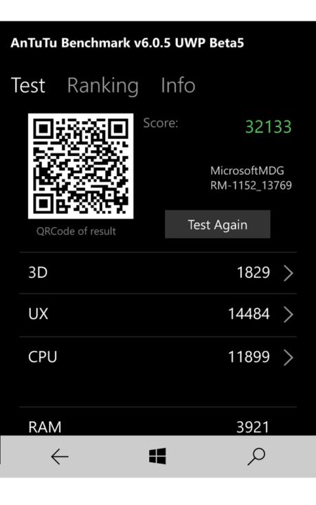 Lumia 650 klarer sig bedre end forgængeren i benchmark-tests, men det kan vi ikke mærke i det daglige. Snarere tværtimod.