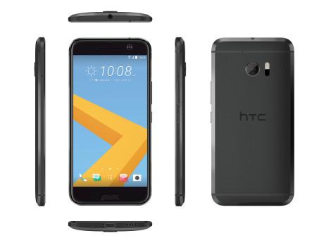 Skærmen er blevet en smule større end på HTC One M9. Og opløsningen er nu strålende QHD. Foto: HTC