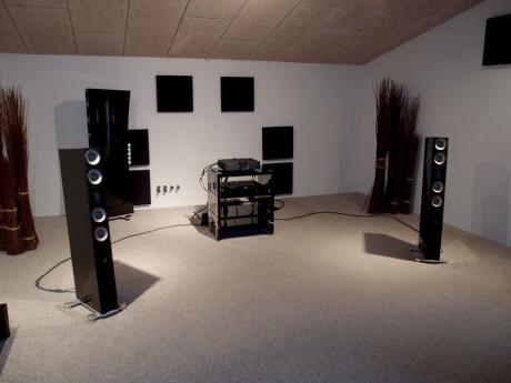 Der var god musik i lytterummet i Pandrup. Foto: Geir Gråbein Nordby, Lyd & Billede