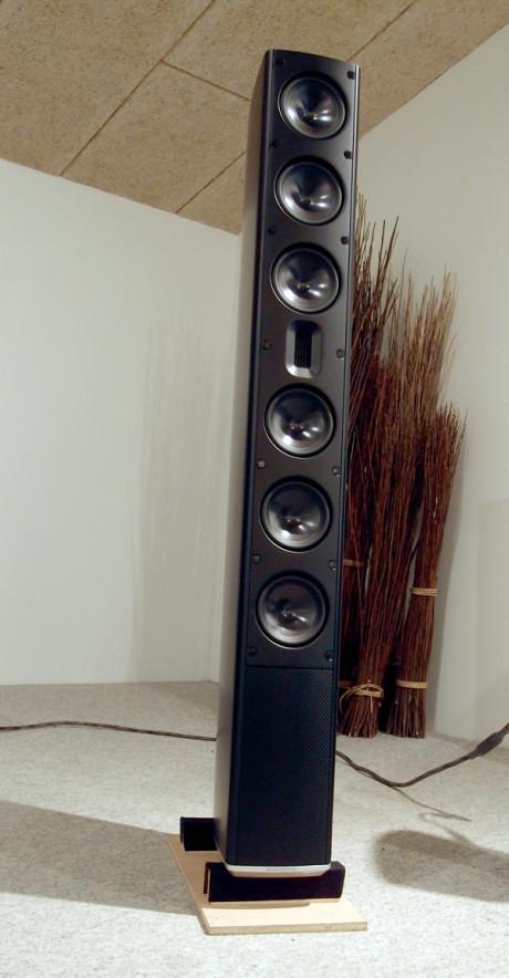 Scansonic MB-6 er en stor højttaler, med et ditto stort lydbillede. Prisen kan man også godt få øje på: Ca. 70.000 kroner. Foto: Geir Gråbein Nordby, Lyd & Billede