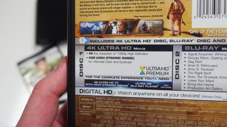 """For at få størt udbytte af det nye UHD Blu-ray-format skal du have et """"Ultra HD Premium"""" -certificeret tv. Foto: Audun Hage, Lyd & Billede"""