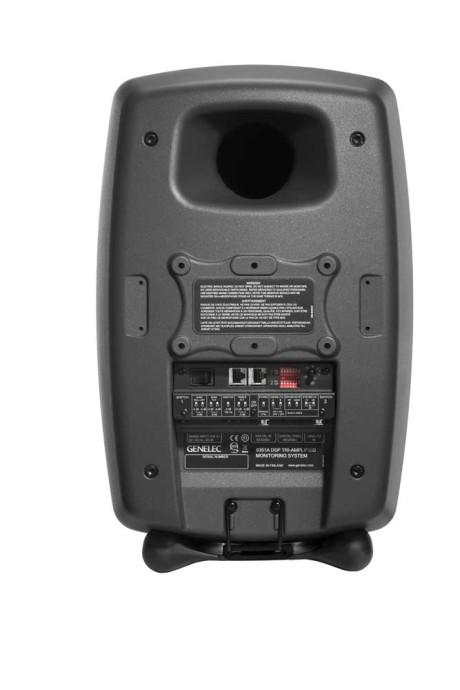 8351A er selvfølgelig fuldt aktive med al elektronik og forstærkning bygget ind i hver højttaler. Derudover har hver højttaler indbygget DAC og DSP samt almindelig XLR-analogindgang. (Foto: Producent)