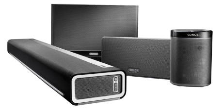 Der findes højttalere til forskellig brug og forskellige rum. Foto: Sonos