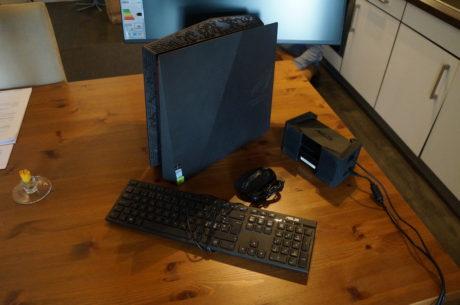 Ingen HTC Vive uden en kraftig gaming-pc. Heldigvis har ASUS været så søde at låne mig denne ASUS ROG G20 til formålet. Foto: Peter Gotschalk, Lyd & Billede