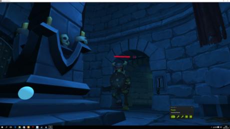 Så tæt på at opleve de gode gamle Dungeons & Dragons-dage på min egen krop, troede jeg aldrig, jeg skulle komme. Screenshot fra Vanishing Realms.