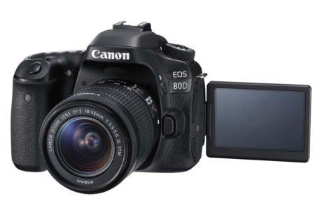 Tilsyneladende som et hvilket som helst andet Canon spejlreflekskamera, bare med touch-skærm og bedre billedkvalitet. (Foto: Producent)