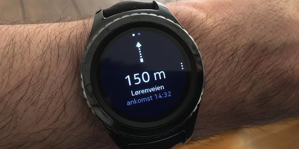 Navigation med uret er stadig afhængig af, at uret parres med mobilen. Foto: Geir Gråbein Nordby, Lyd & Billede