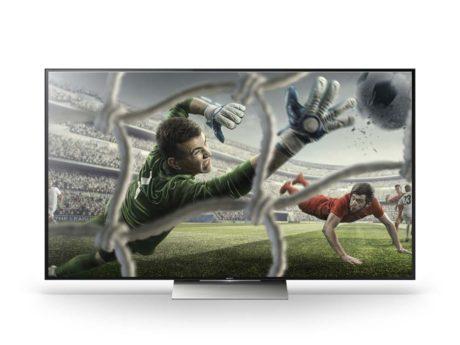 Sonys tv har en imponerende slank fremtoning, uanset om man vælger at vægmontere det eller ej. Foden er kun 45 cm bred, og dermed kan det stå på de fleste tv-borde (Foto: Producent)