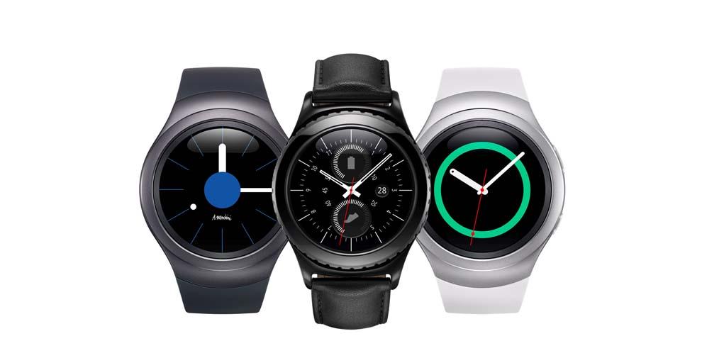 Samsung Gear S2 er et temmelig elegant ur. Foto: Samsung