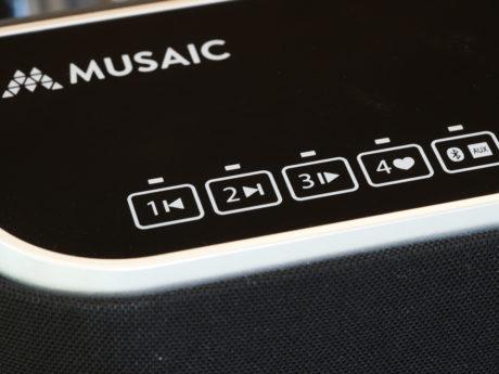 Ingen knapper, kun touch-felter. Foto: Lasse Svendsen
