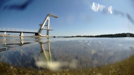 Olympus-kameraet eksponerer fremragende både over og under vand. (Foto: Producent)