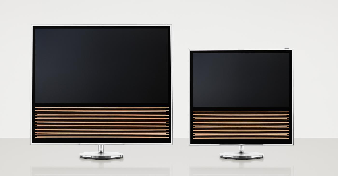 """BeoVision 14 fås i 40"""" og 55"""". Foto: B&O"""