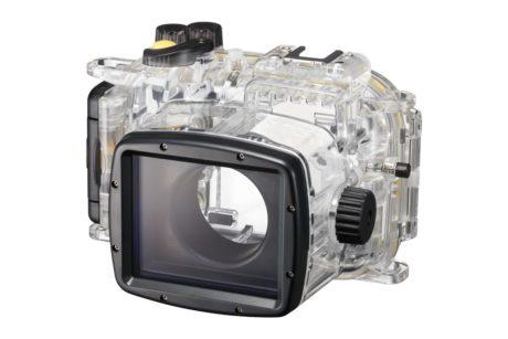 Skal du ud og dykke? Så er det godt, at der findes undervandshus til Canon-kameraet. (Foto: Producent)