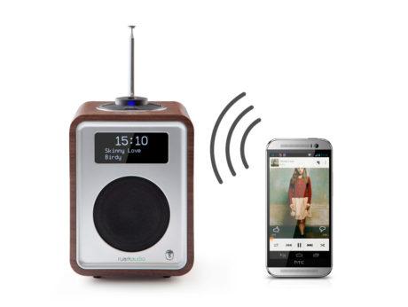 Bluetooth giver dig musik-streaming direkte til radioen. (Foto: Producent)