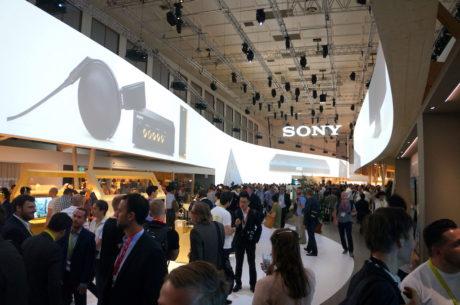 Sony satser stærkt på den gode lyd på årets IFA-messe. Foto: Peter Gotschalk, Lyd & Billede
