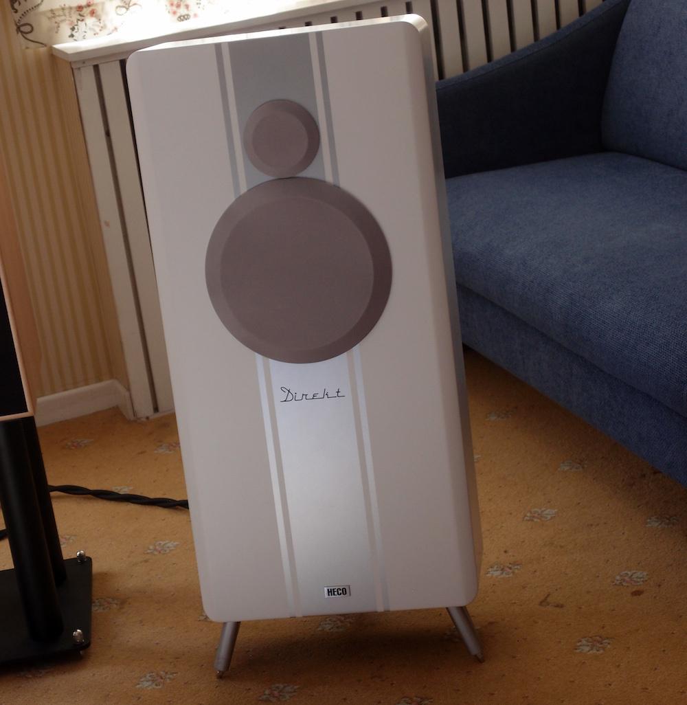 Audio Art spillet på højttalere Heco Direkt. Foto: Geir Gråbein Nordby, Lyd & Billede