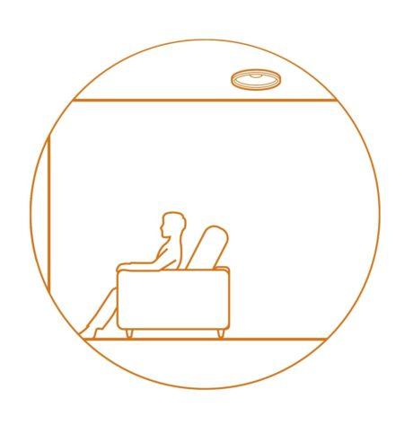 Med et par højttalere monteret i loftet kan du nyde et ægte tredimensionelt lydbillede med lydformater som Dolby Atmos og DTS:X. Illustration: Pioneer/Onkyo