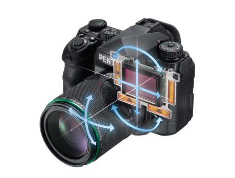 Femaksers billedstabilisering og Pixel Shift er ret unikt for et full-frame kamera. (Foto: Producent)