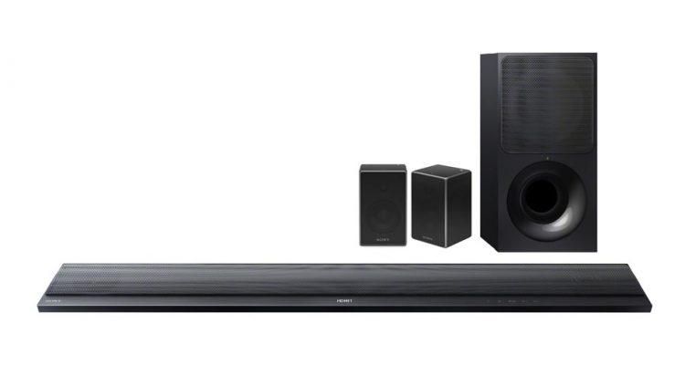 Seks trådløse surround-systemer