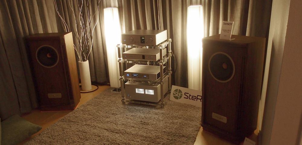 Stereofil spillede på et kostbart Luxman-anlæg, der drev et par Tannoy Turnberry GR LE. Dynamik og entusiasme var nøgleordet. Foto: Geir Gråbein Nordby, Lyd & Billede
