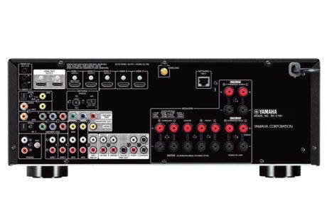 Klassens eneste receiver med multikanal forforstærkerudgang. Foto: Yamaha