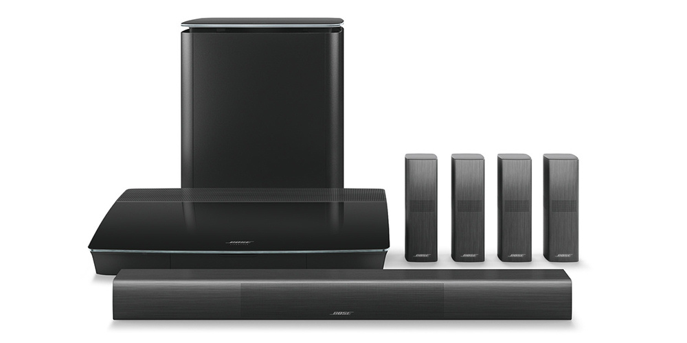 Bose Lifestyle 650 er et stilfuldt surroundsystem. Foto: Bose