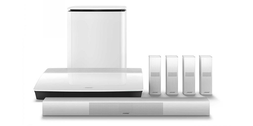 Lifestyle 650 (billedet) og 600 fås også i hvid. Foto: Bose