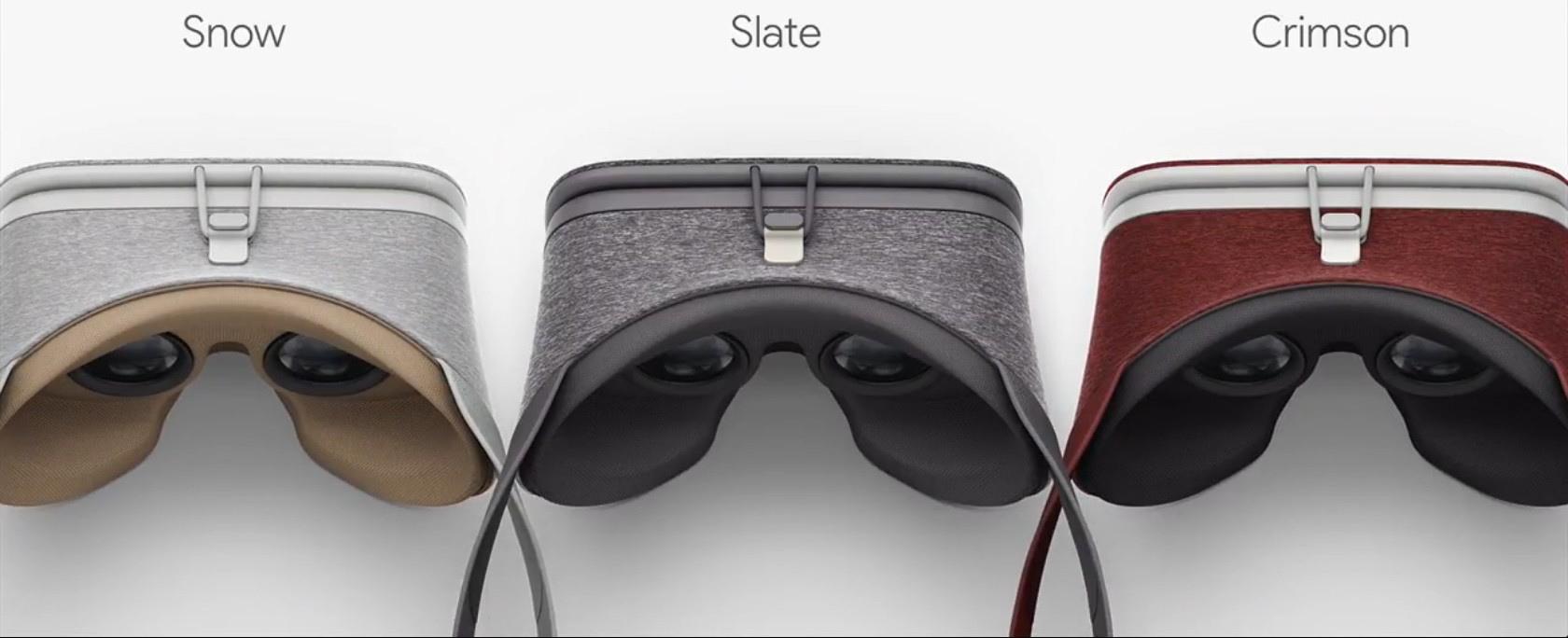 VR-brillerne vil blive frigivet i tre sofistikerede farver. Foto: Google
