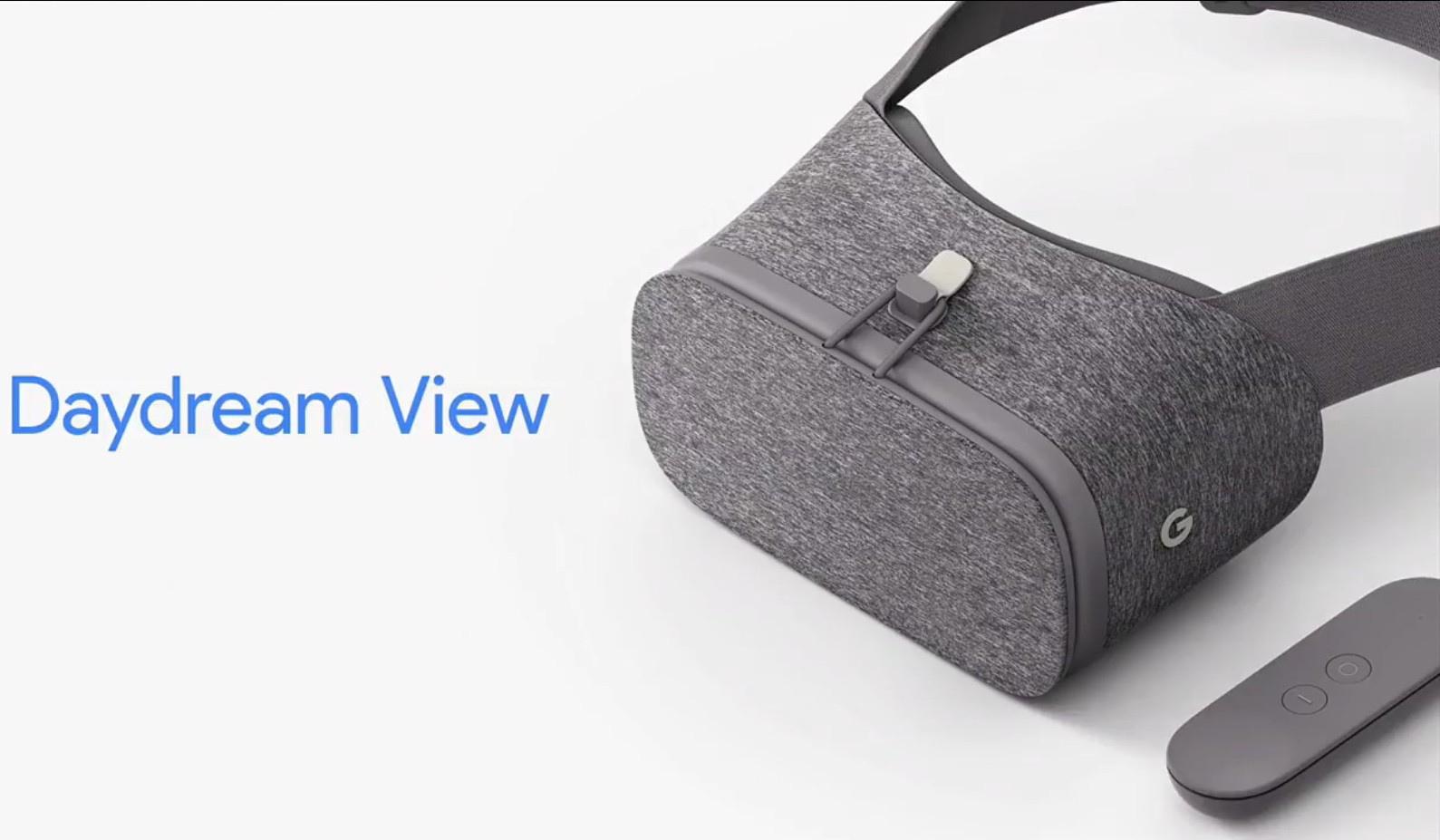 En VR headset, der ser lidt anderledes ud. Foto: Google