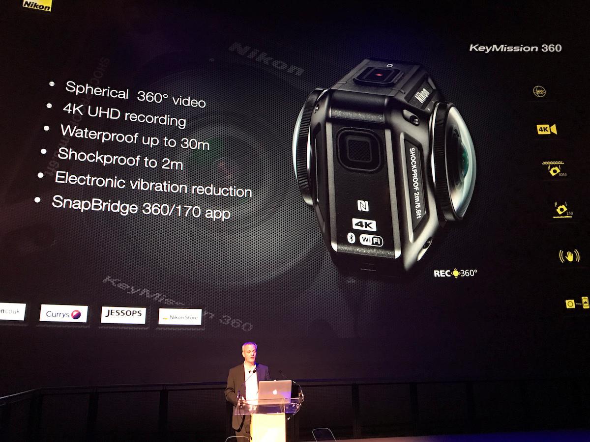 KeyMission 360 vil koste ca. 4.000 kroner. Foto: Jonas Ekelund, Lyd & Billede