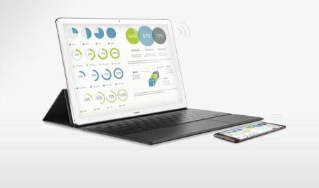 iPad Pro og Huawei MateBook. Ligheden er slående. (Foto: Producent)