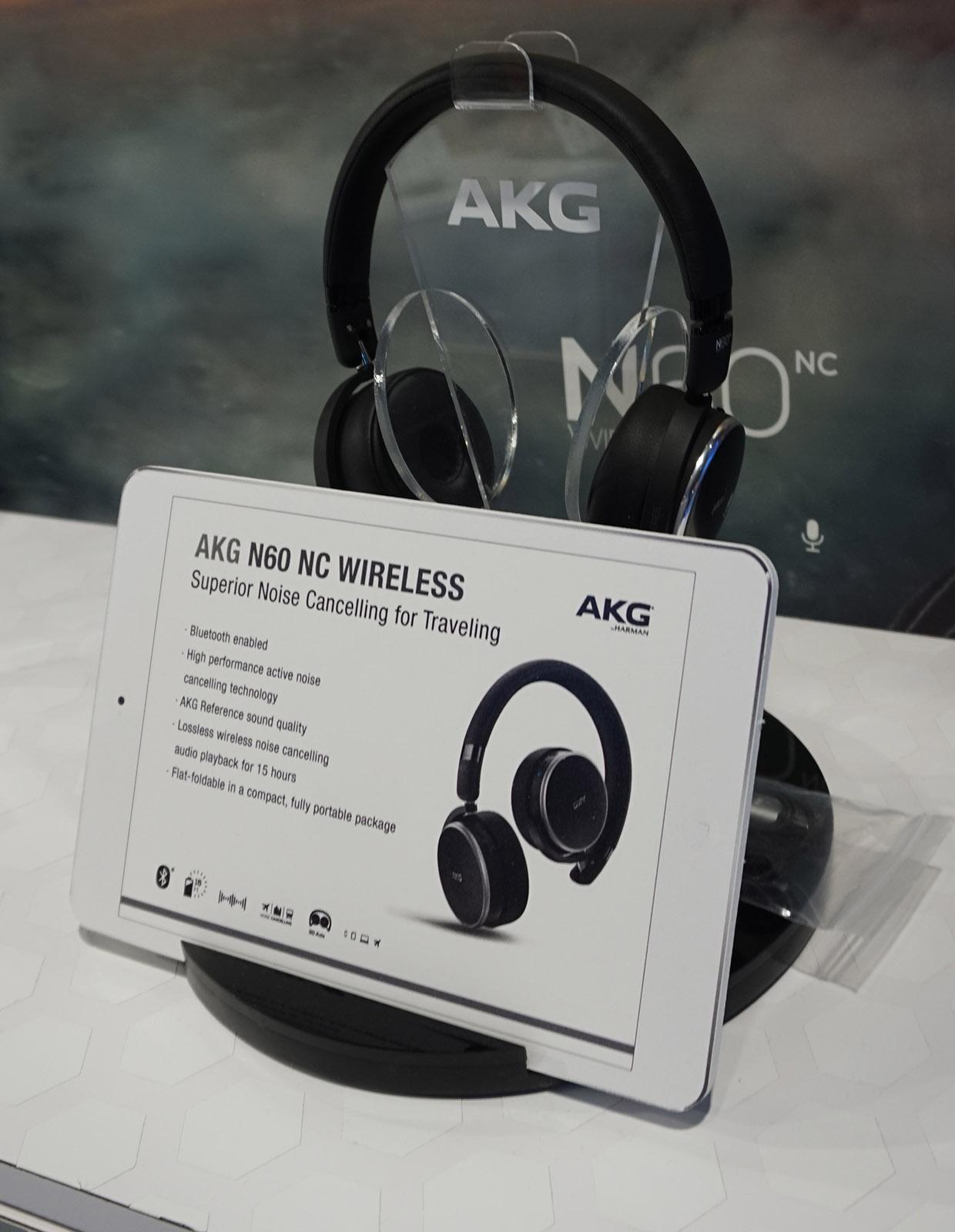 AKG N60 NC kommer nu i en trådløs udgave. Foto: John Alex Hvidlykke, Lyd & Billede.