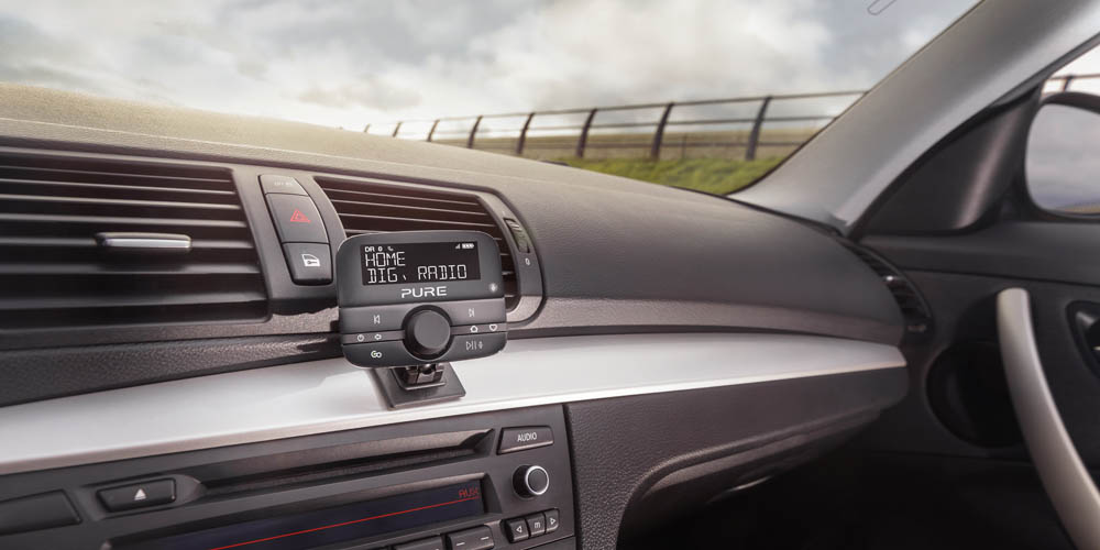 DAB-radio i bilen