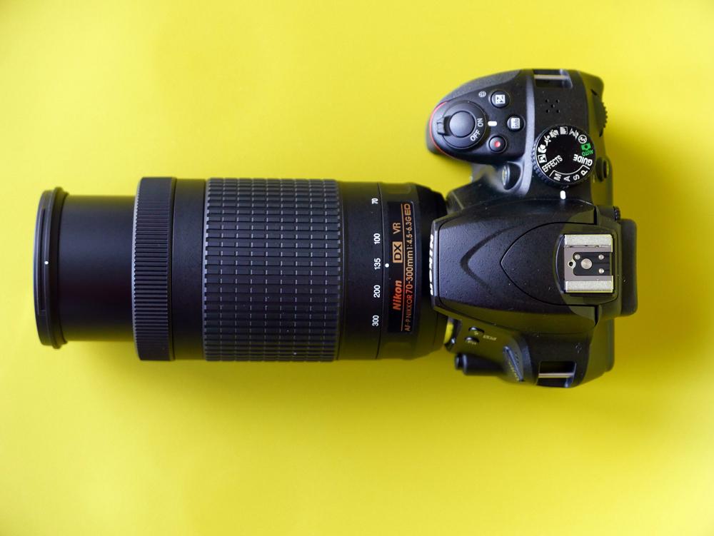 Nikon AF-P DX Nikkor 70-300 mm f/4.5-6.3G ED VR