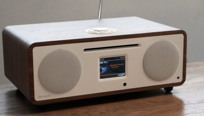 Tiny Audio Stereo Wide mikroanlæg