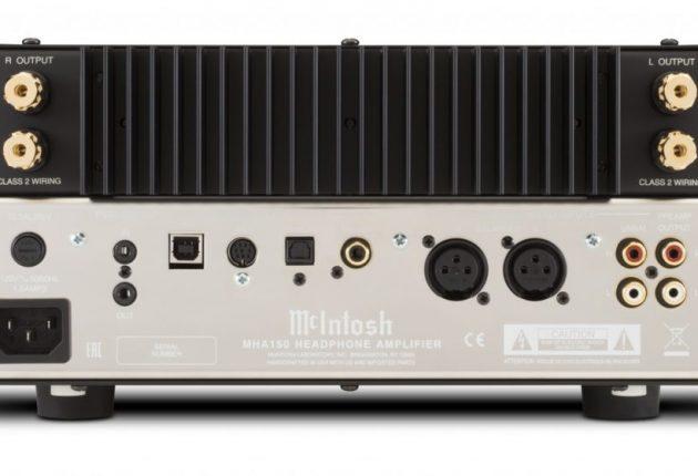 USB-porten understøtter opløsninger på op til 384 kHz. Forstærkeren har også 2 x 50 watt til et par højttalere. Foto: McIntosh