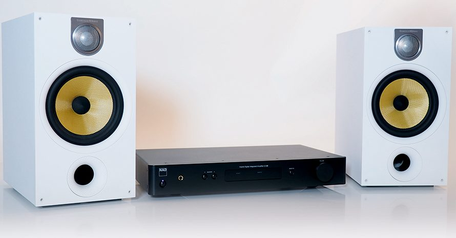 NAD C338 + Bowers & Wilkins 685 S2