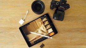 iPad Pro til billedbehandling