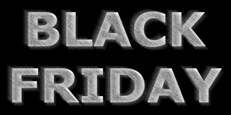 SHOP AMOK på Black Friday!