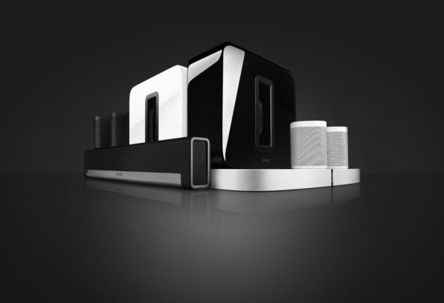 Sonos' andre højttalere, der fungerer godt sammen med One.