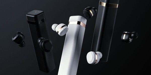 8 trådløse in-ear propper