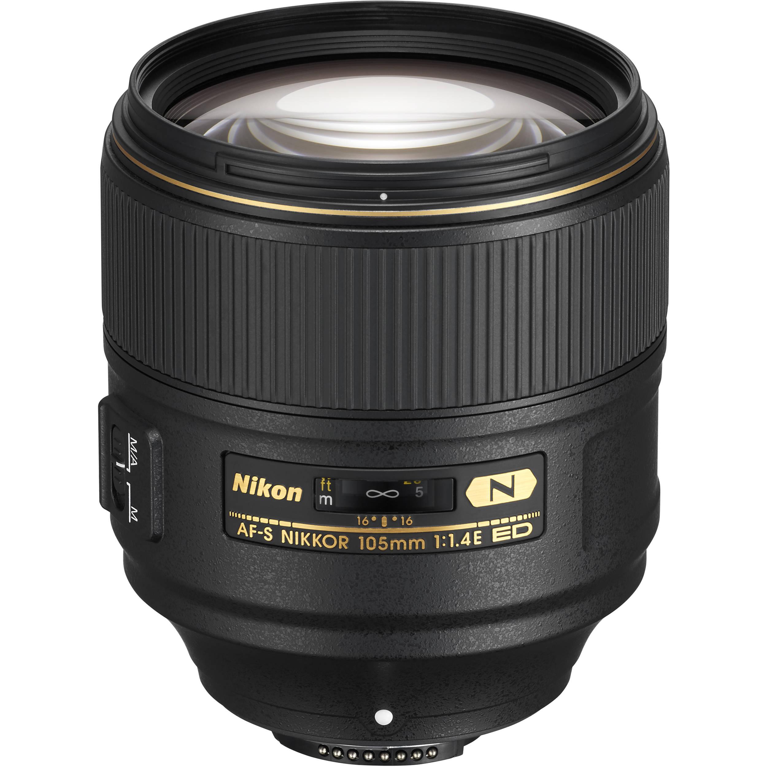 Nikon AF-S 105 mm F1.4E ED