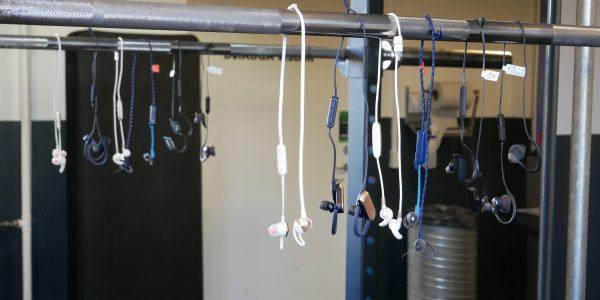 6 trådløse fitnesspropper